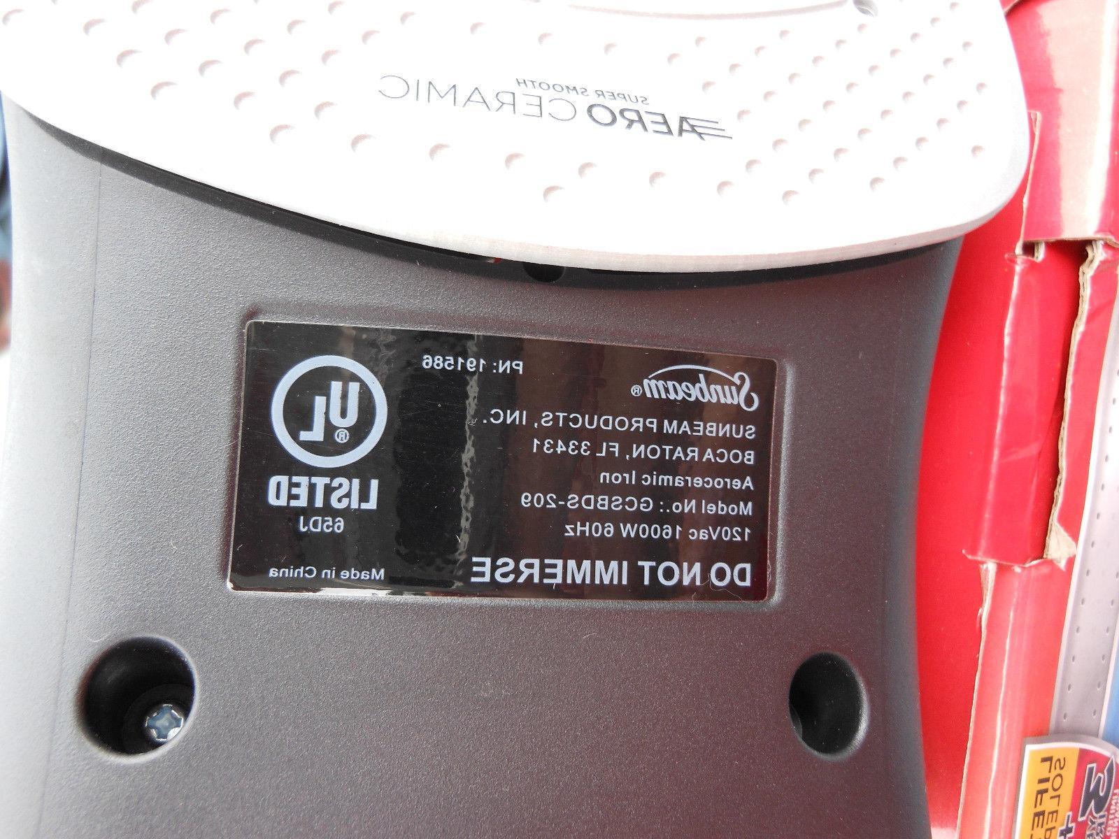 Sunbeam Iron 1600W