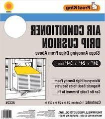 "Frost King Air Conditioner Drip Cushion, 24"" L x 24"" W x 2"""