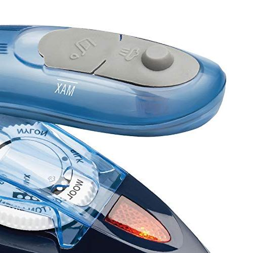 Brentwood BTWMPI45 Dual-Voltage Nonstick Travel Steam Iron One Blue