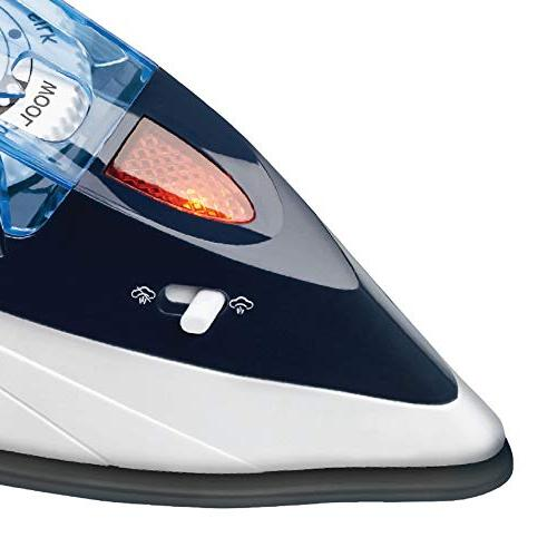 Brentwood Dual-Voltage Nonstick Travel Iron One Size Blue