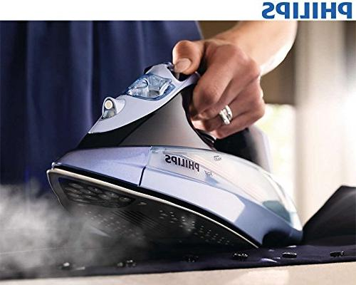 Philips Azur iron GC4865/02 boost soleplate Auto Off 2400 Watts with SteamGlide Safety auto GC4865