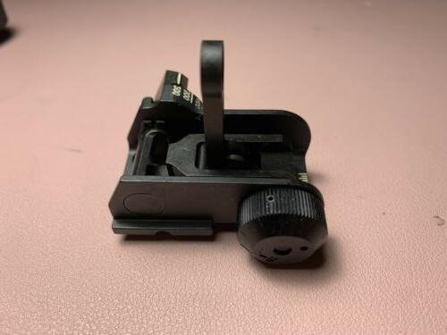 Brand Back Iron Sights BUIS Mil
