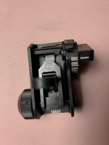 Brand 0GU83 Back Up Sights BUIS Rear Sight Mil