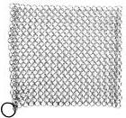 Chainmail Scrubber Stainless Steel Cast Iron Cookware Cleane