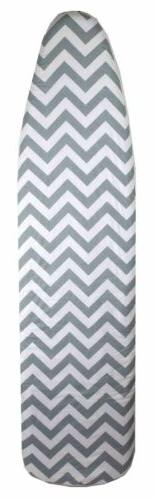 "Sunbeam Classic Chevron 15"" x 54"" Cotton Ironing Board Cover"