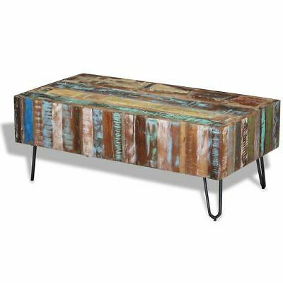 coffee table solid reclaimed wood 39 4