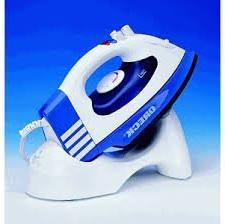 ORECK CORDLESS STEAM IRON , MODEL # JP-8100-CB