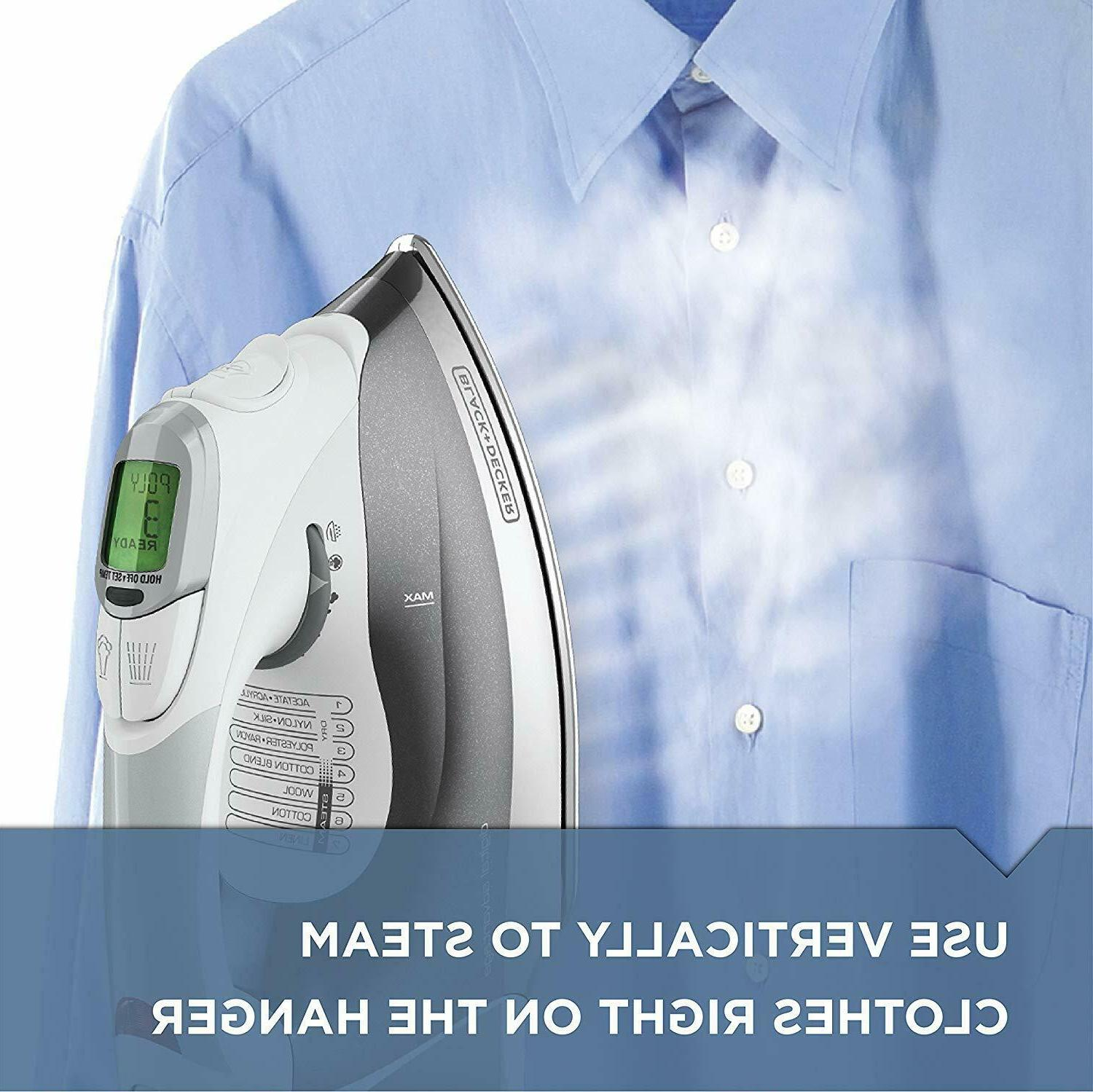 Digital Professional Steam Iron, LCD
