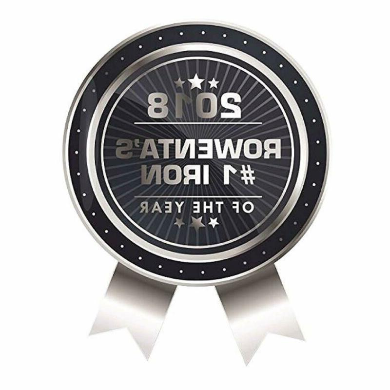 Rowenta DW5080 1700-Watt Steam Iron Stainless Soleplate with