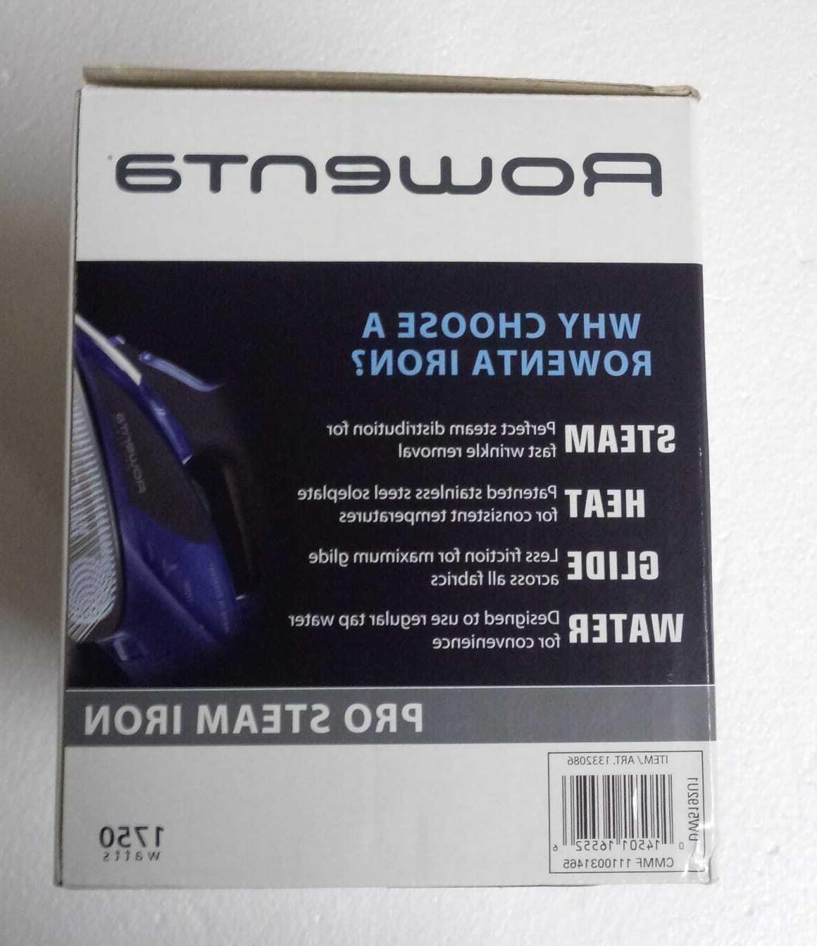 Rowenta Pro Iron with 1750Watt,