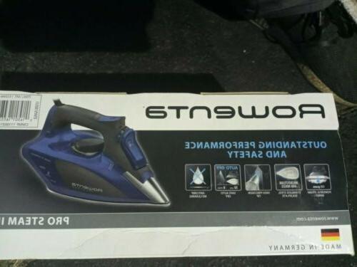 Rowenta Steam Iron - Grey/Corsican Blue- new!!!