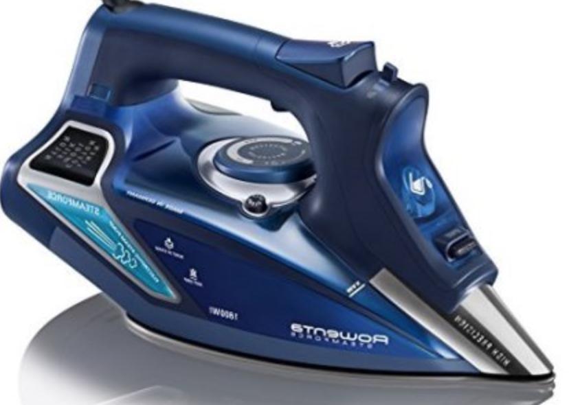 Rowenta Steamforce 1800W Iron Blue Stainless