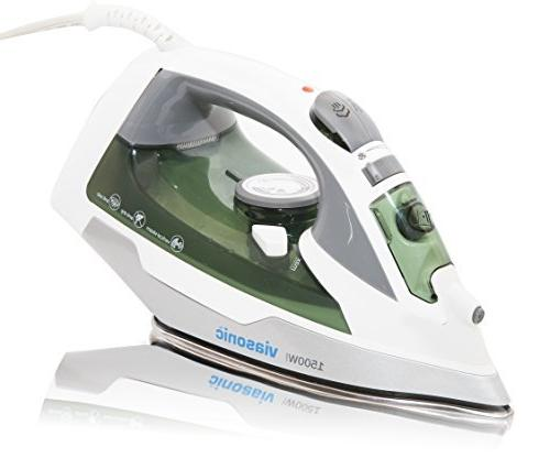 Viasonic Elite Iron Anti-Drip & Self-Cleaning, Anti-Calcium, Vertical Steam - Stainless - - Steam, - by Unity
