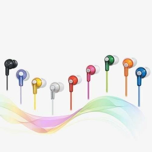 Panasonic ErgoFit In-Ear Earbud Headphones RP-HJE120 MANY CO
