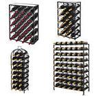 Freestanding Metal Wine Rack Four Steel Sizes Models - Home