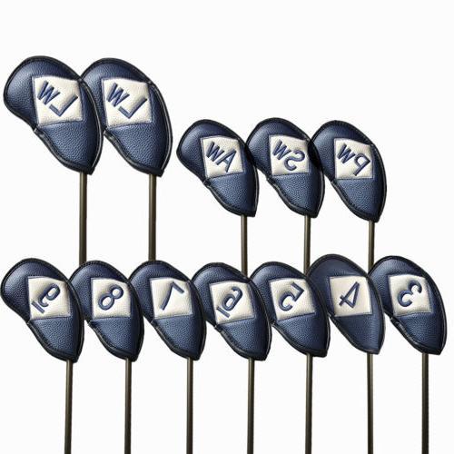 Golf Head Set 12 Iron Numbers Beauty