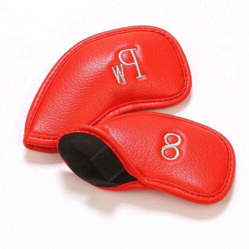 Head Covers Leather 12Pcs Full Complete Cobra