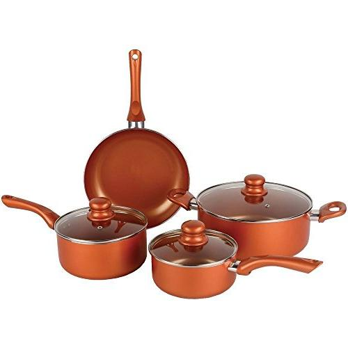 induction copper cookware