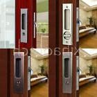 Invisible Durable Door Locks Handle with Keys for Sliding Ba