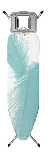 Brabantia Ironing Board with Solid Steam Iron Rest, Size B,