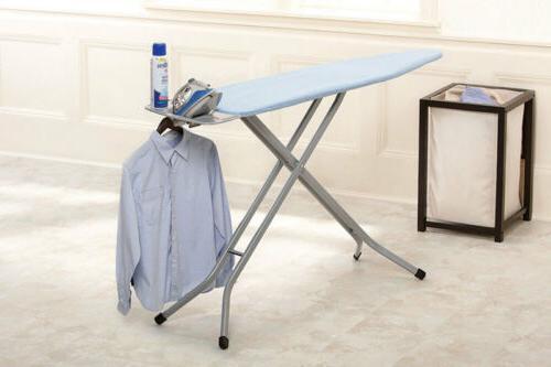 "Homz Ironing Board System 53.8"" L X 14.4"" W X 40.5"" H Blue"