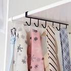 Kitchen Iron Stainless Steel Dish Cupboard Hanger Rack Hooks