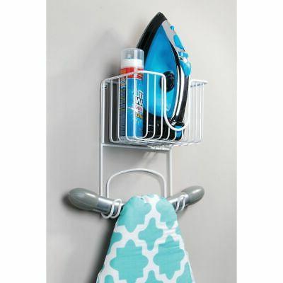 Ironing Board Holder Small Basket
