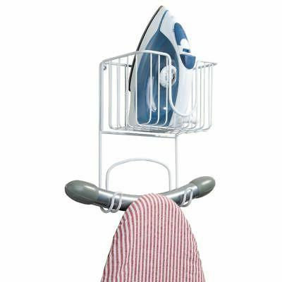 metal wall mount ironing board holder