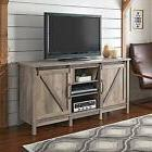 """Rustic Farmhouse TV Stand for TVs up to 60"""" Media Storage Sl"""