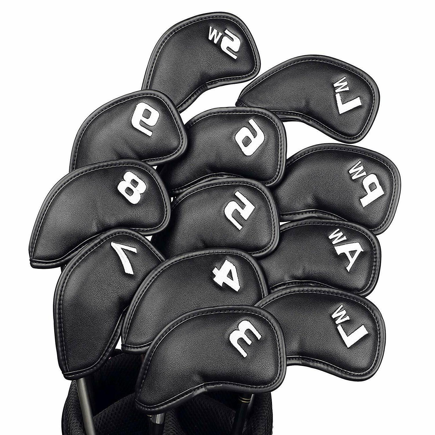 Champkey Monster Golf Iron Head Cover Pack of 12pcs, More Th