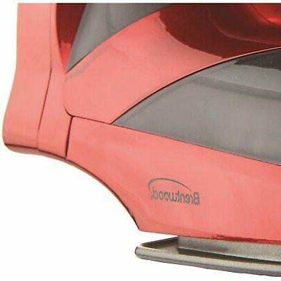 Brentwood MPI-59R Non-Stick Steam Iron, Types