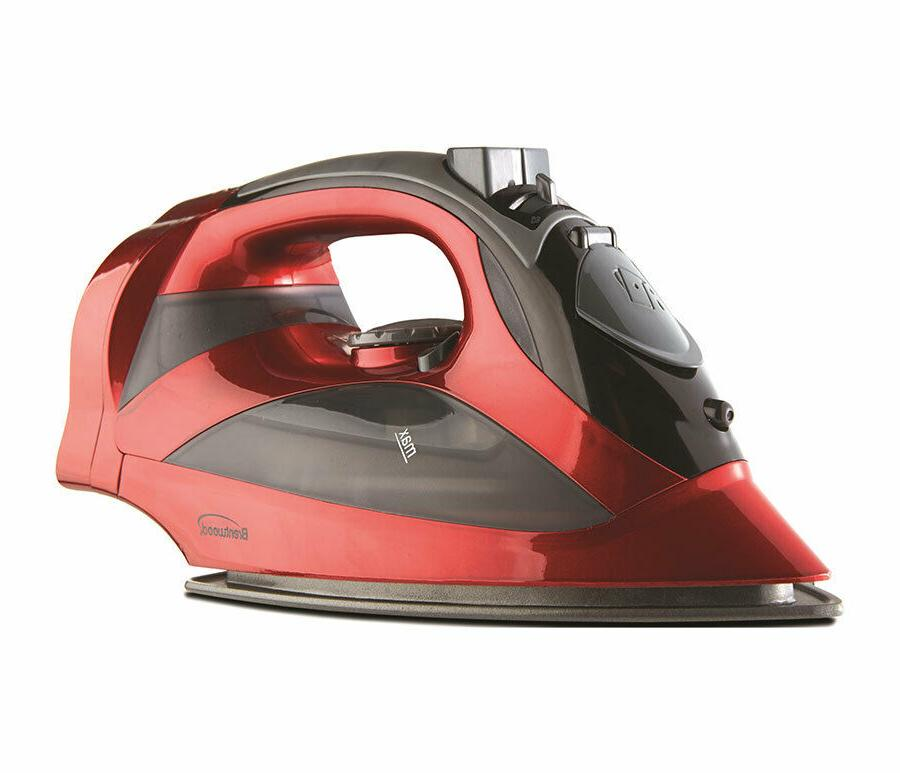 mpi 59r red steam iron with retract