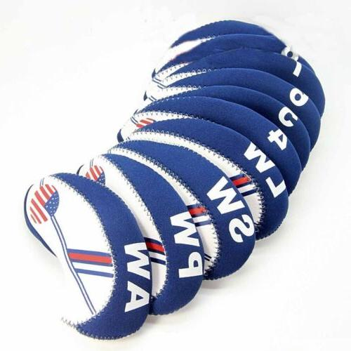 NEW 10 Golf Head Cover Club HeadCovers Protect US