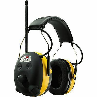 NEW 3M 90541 PELTOR WORKTUNES AM/FM/MP3 DIGITAL EARMUFFS HEA