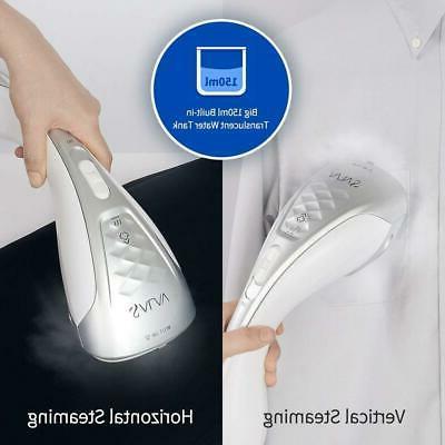 New Salav Duopress Handheld Garment Steamer Iron, HS-100