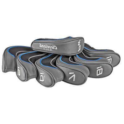 NEW Cleveland Golf Launcher HB Premium Iron Head Covers 7 Pi