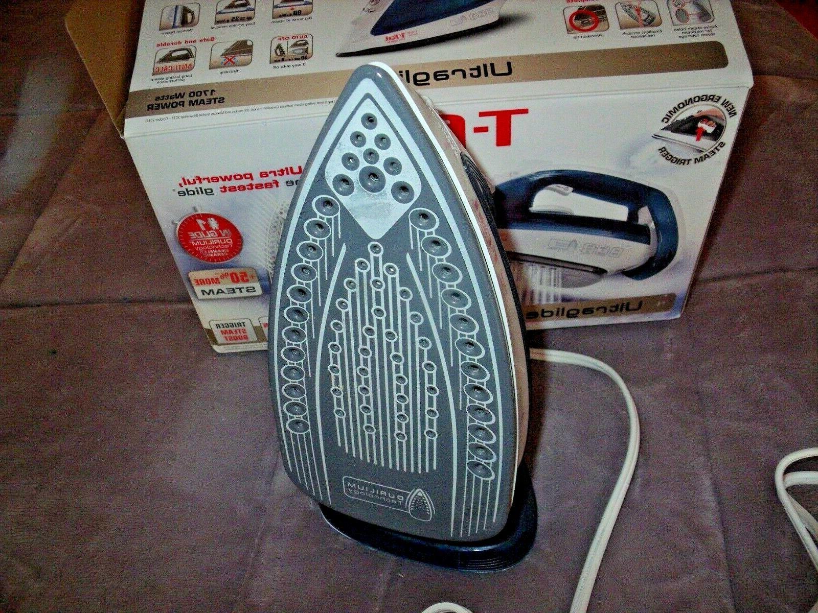 NEW T-FAL IRON 1700 Watts Ceramic AUTO In BOX