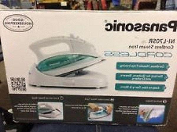 nil70sr cordless electric steam iron
