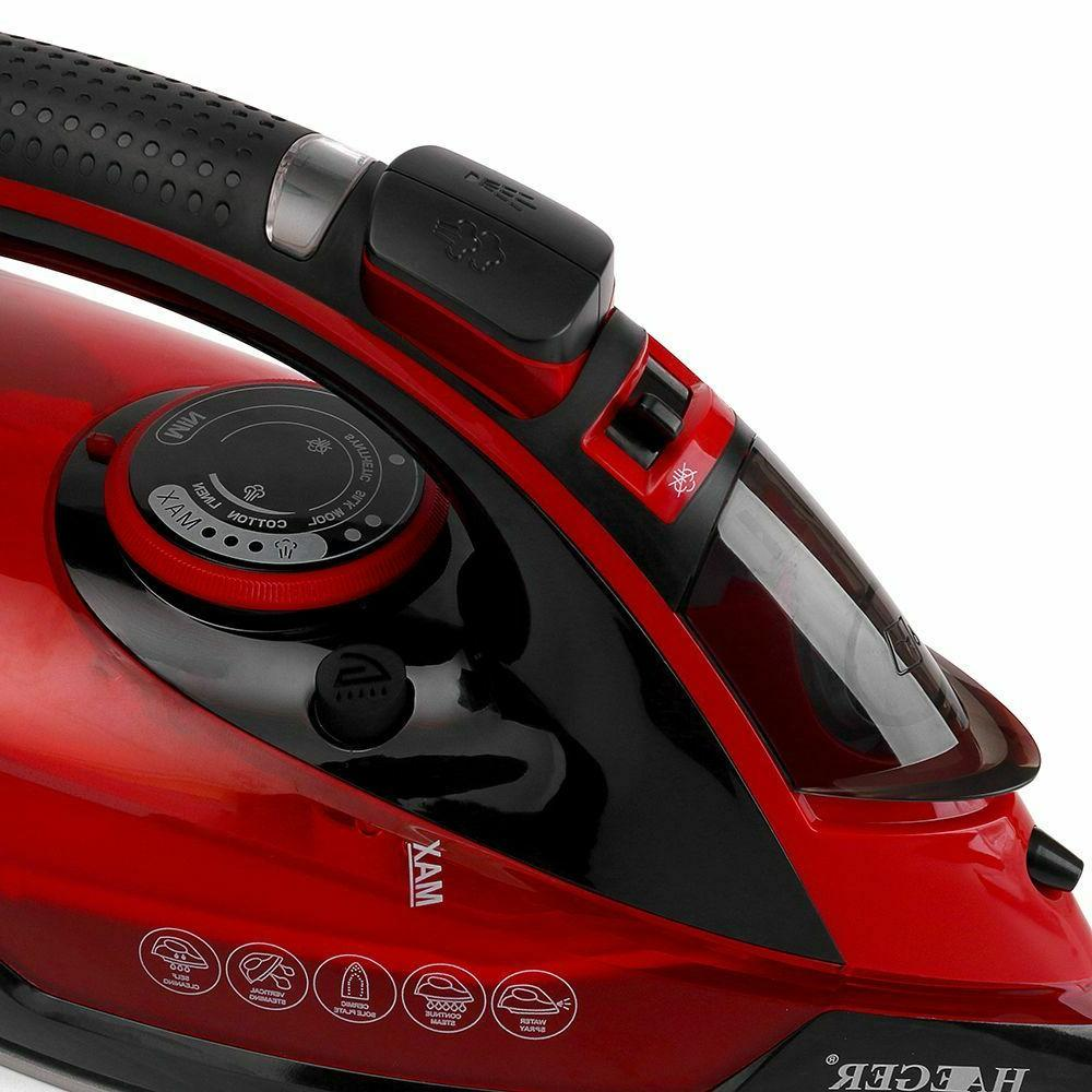 Portable Steam 2600W Cordless Soleplate Plug