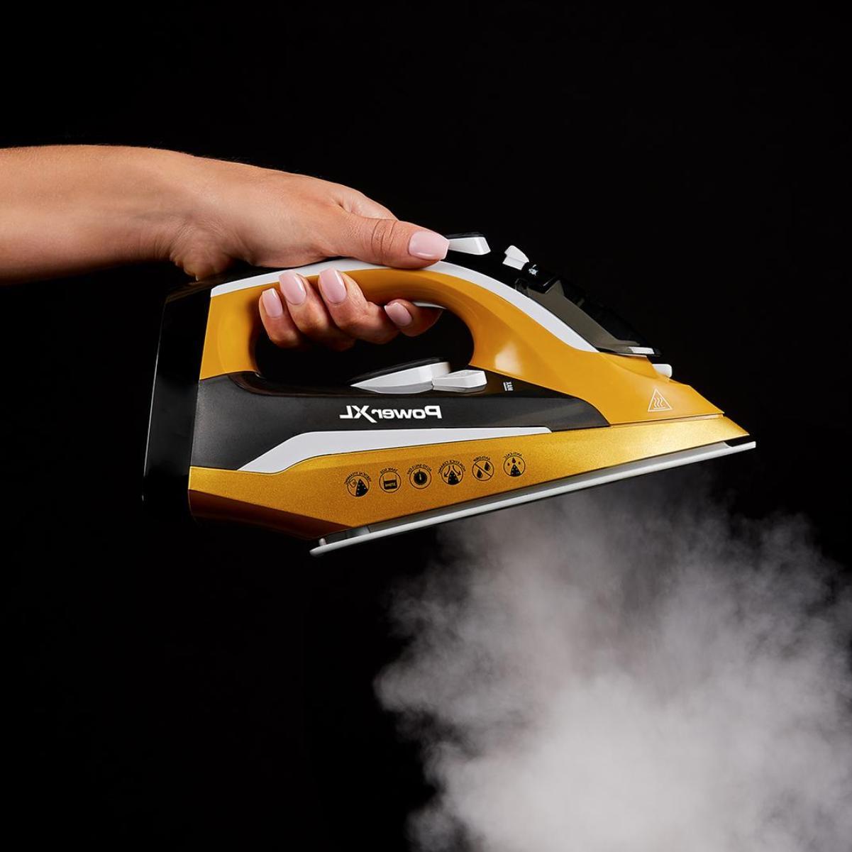 Power Iron & Steamer 2-in-1 Ergonomic Design