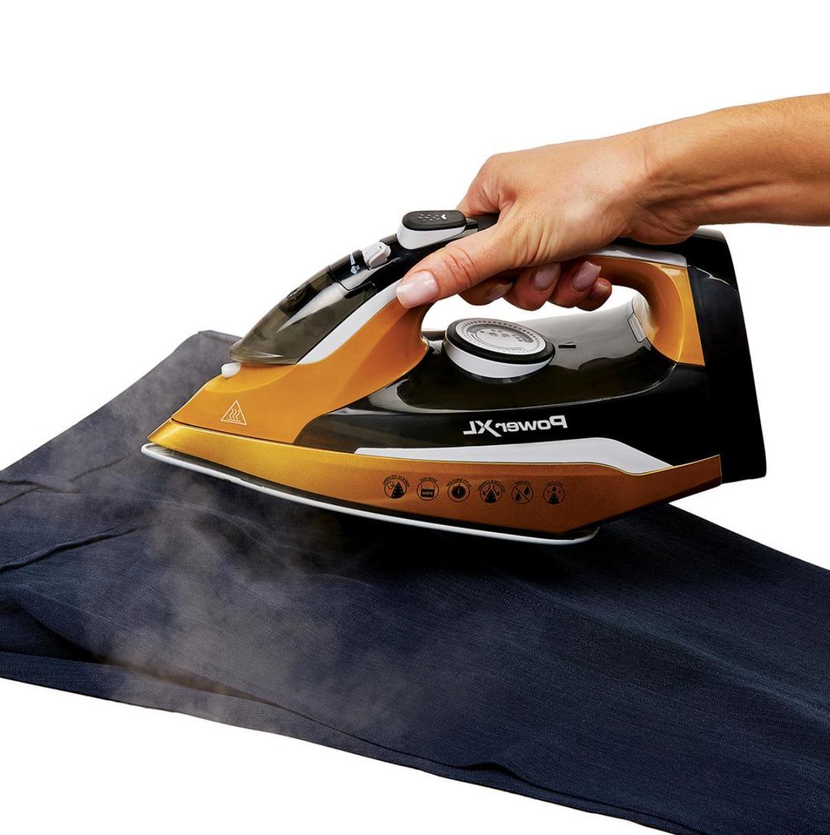 Power XL Cordless Iron Ergonomic Design