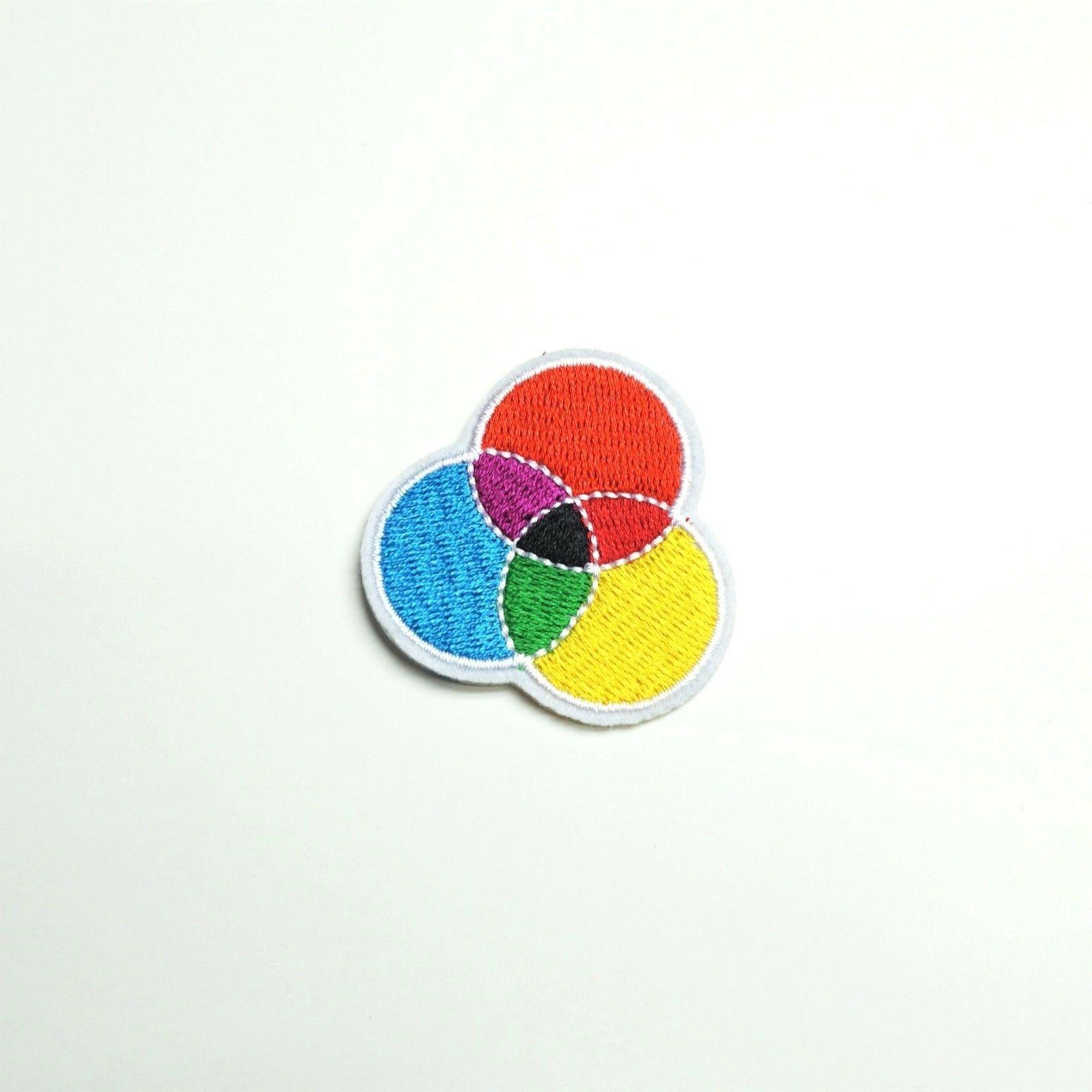 Primary Secondary Wheel Model Embroidered,