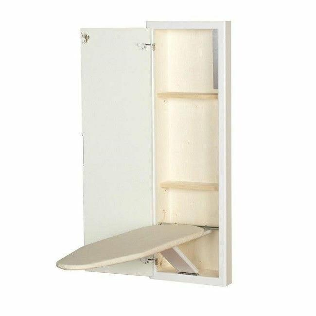 Recessed Ironing Board Household Essentials Storage Fold Away In 18100-1