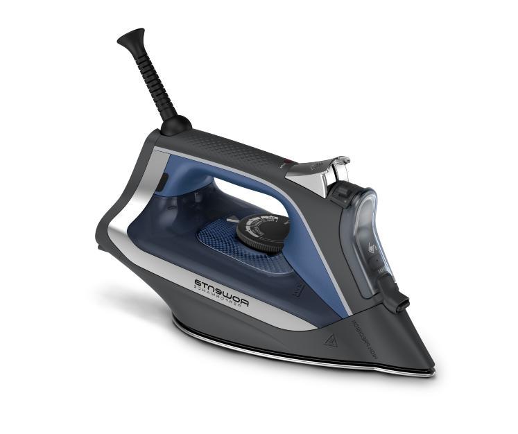 Rowenta Digital Display Steam Iron Stainless Steel Soleplate