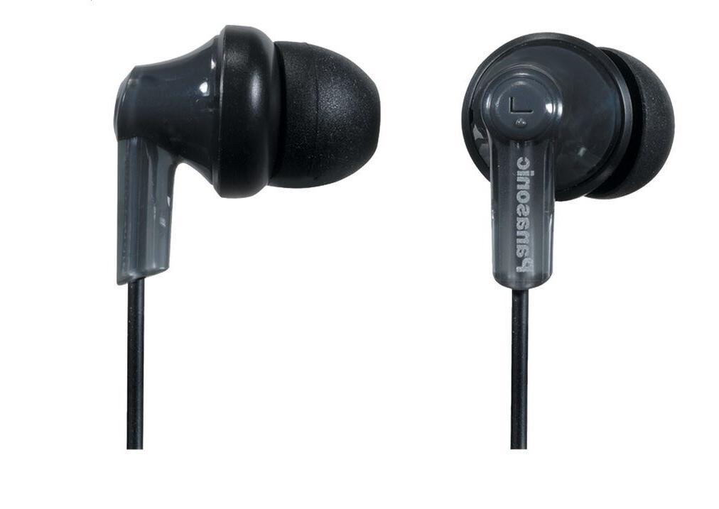 Panasonic RPHJE120K ErgoFit Wired In-Ear Stereo Canal Earbud