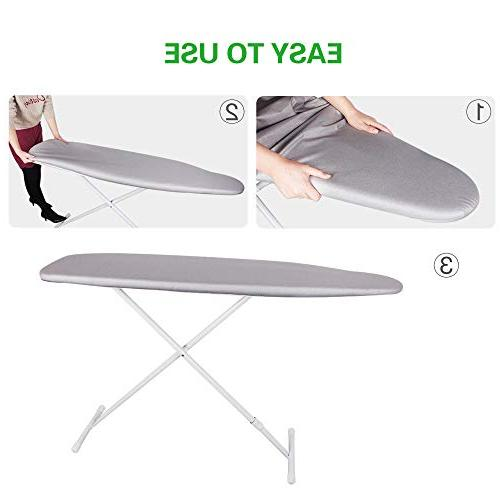 Sunkloof Silicone Board Resists Scorching StainingIroning Board 4 Fasteners Large Scorch Cloth