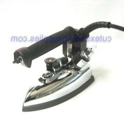 gravity feed industrial steam iron silver star