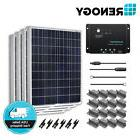 Renogy 400 Watt Solar Panel Kit 400W 12V Off Grid Battery Ch