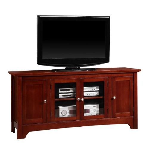 solid hard wood tv media