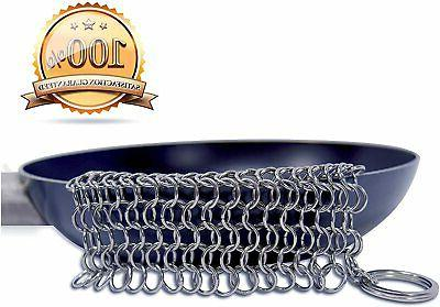 Stainless Steel Cleaner Chainmail Medium
